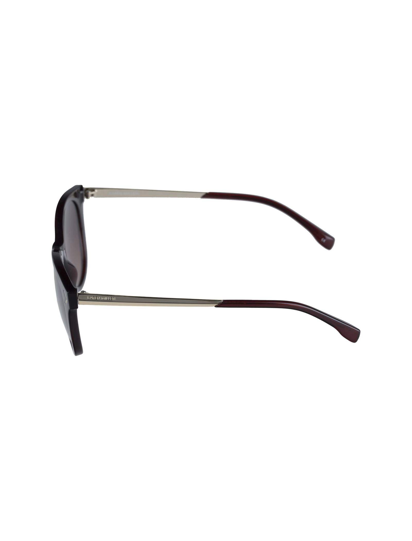 عینک آفتابی ویفرر زنانه - کارن میلن - قهوه اي - 4