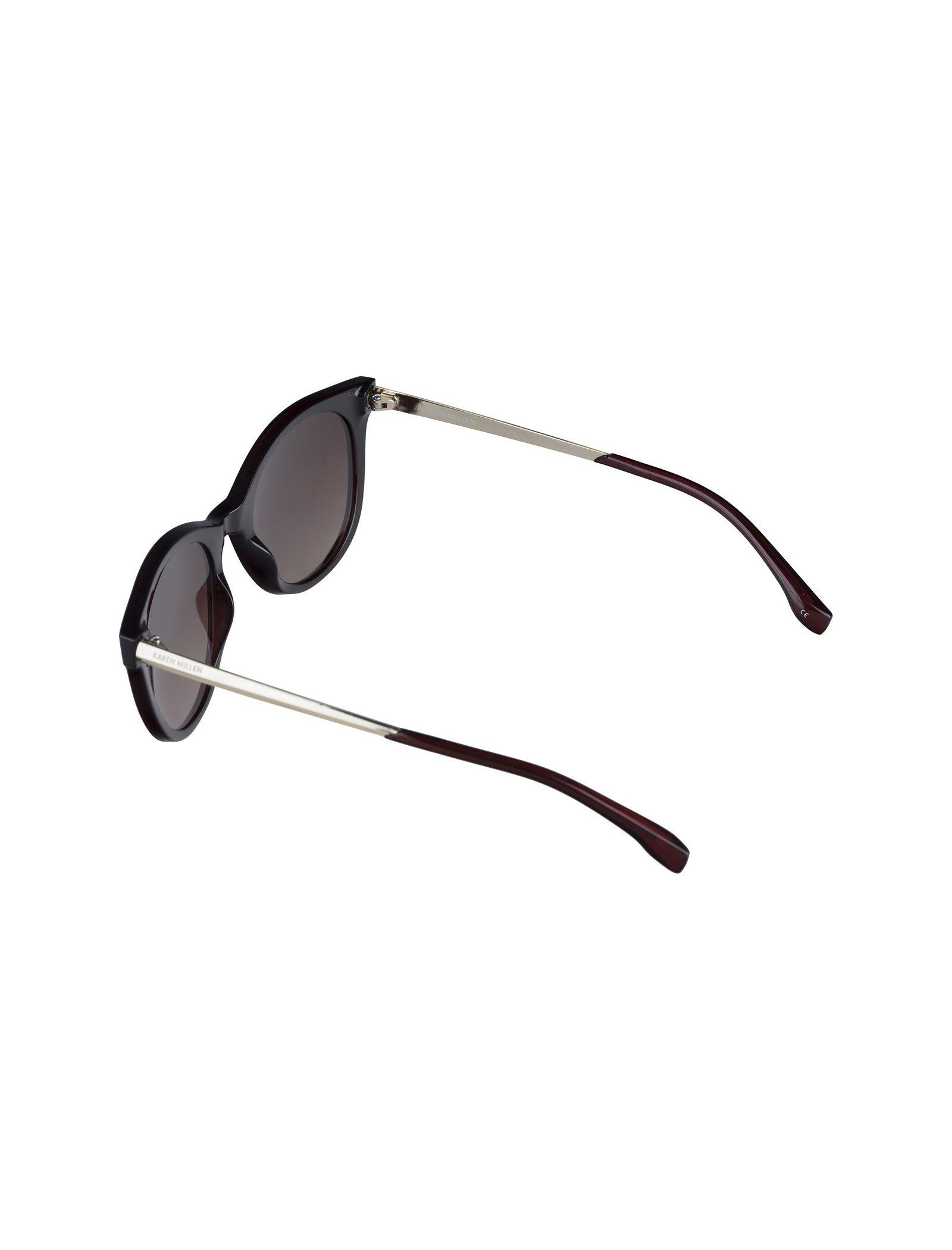 عینک آفتابی ویفرر زنانه - کارن میلن - قهوه اي - 5