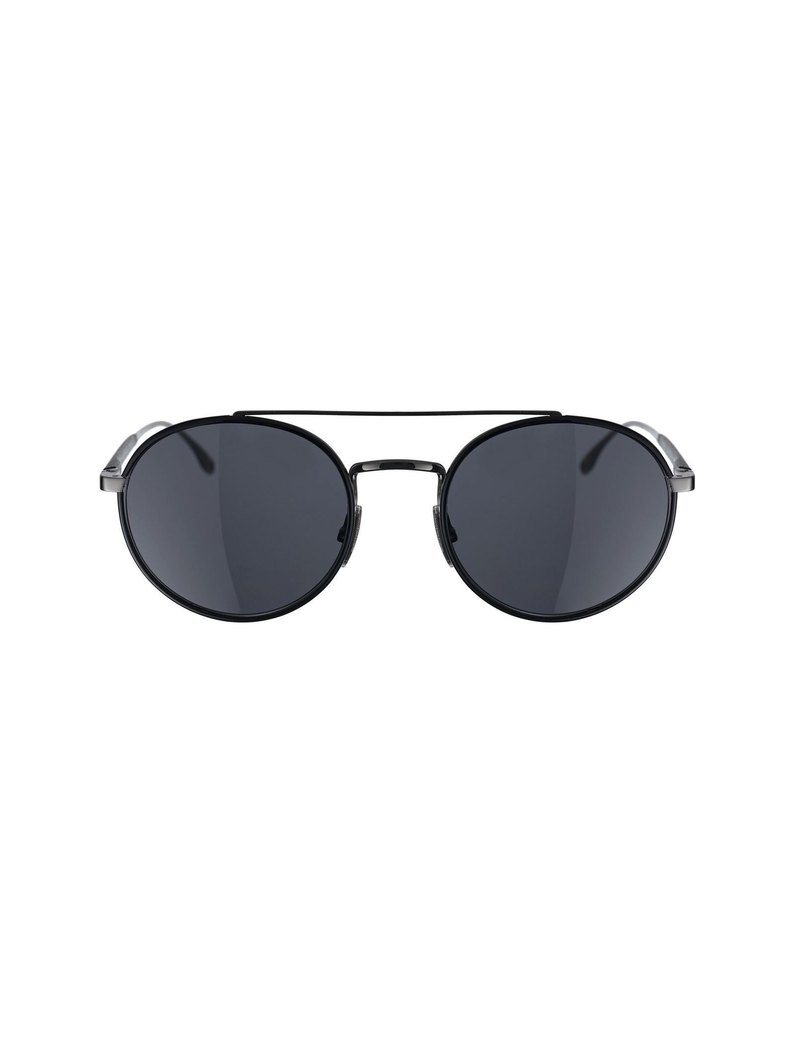 عینک آفتابی گرد مردانه - باس - مشکي - 1