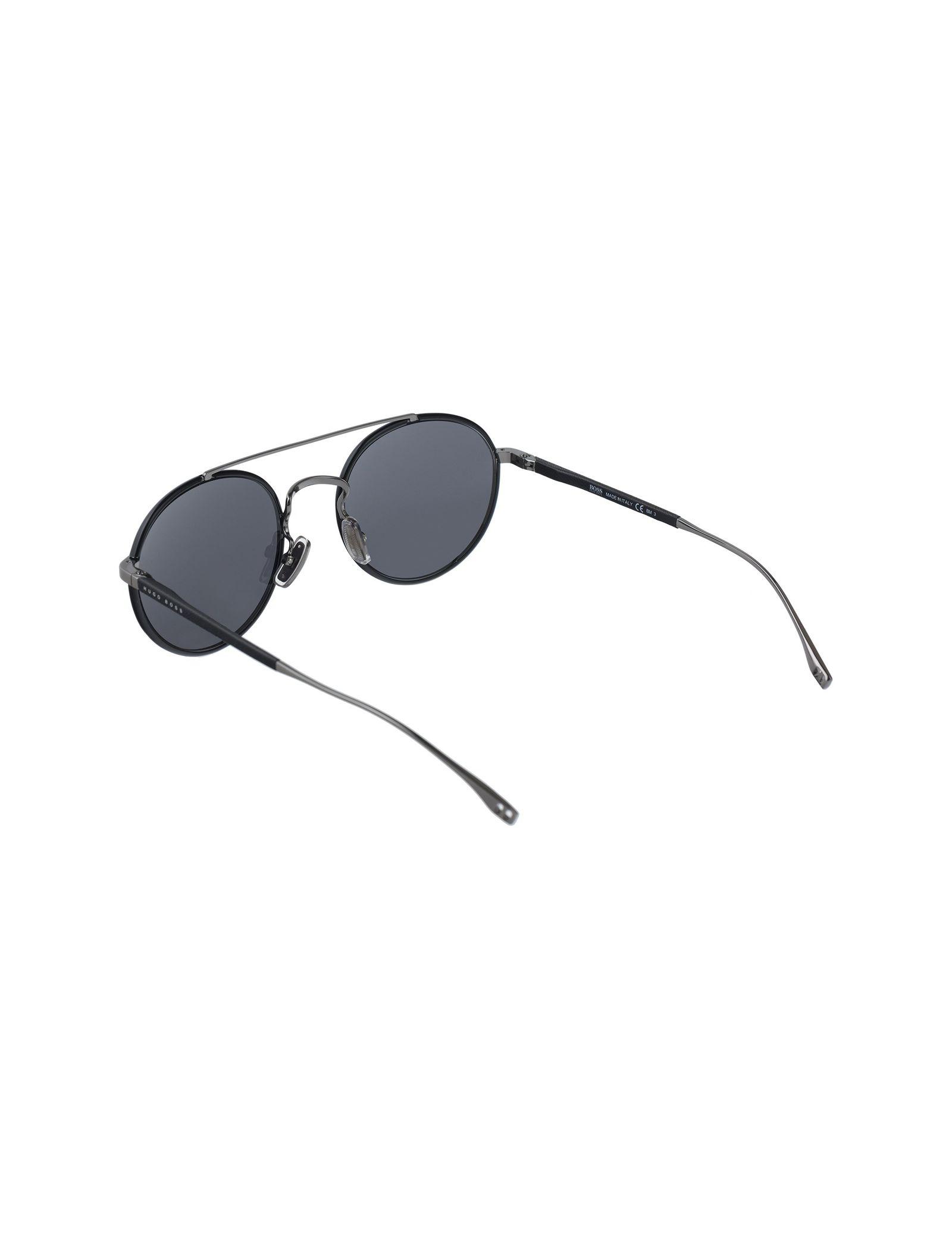 عینک آفتابی گرد مردانه - باس - مشکي - 4