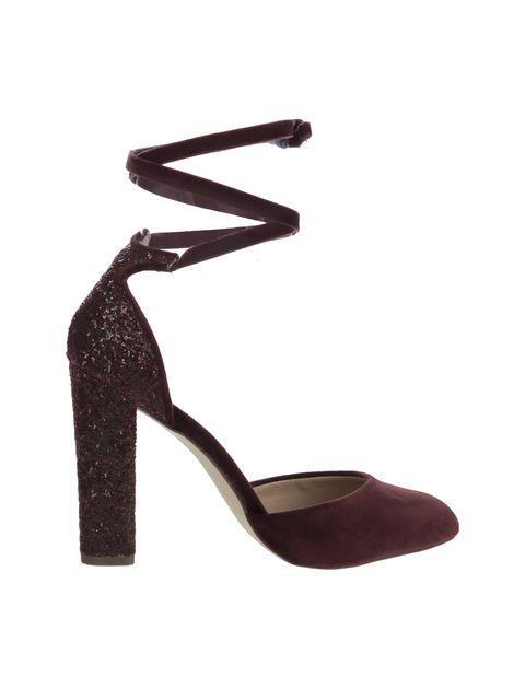 کفش پاشنه بلند زنانه ABIGODDA - زرشکي - 1