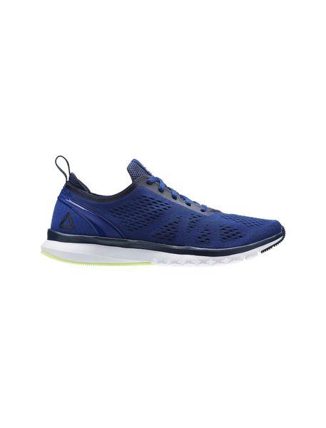 کفش دویدن بندی مردانه Smooth Clip Ultraknit - آبي - 1