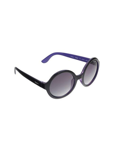 عینک آفتابی گرد دخترانه - مشکي - 2