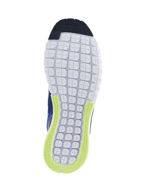 کفش دویدن بندی مردانه Smooth Clip Ultraknit - آبي - 2