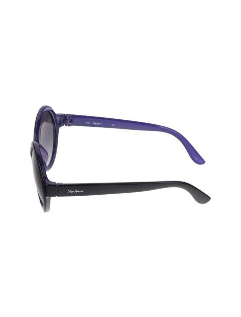 عینک آفتابی گرد دخترانه - مشکي - 3