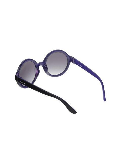 عینک آفتابی گرد دخترانه - مشکي - 4