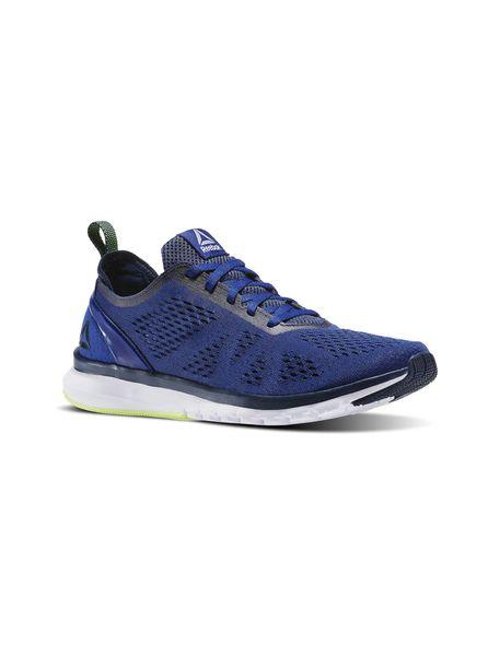 کفش دویدن بندی مردانه Smooth Clip Ultraknit - آبي - 4