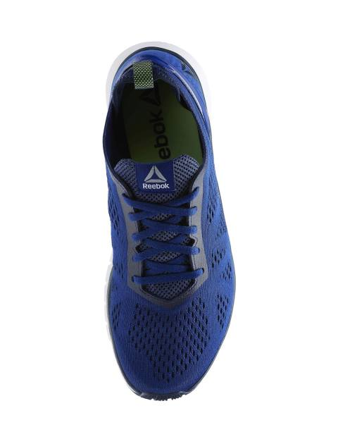 کفش دویدن بندی مردانه Smooth Clip Ultraknit - آبي - 5