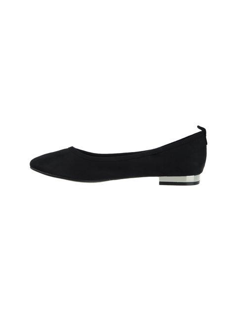 کفش تخت عروسکی زنانه - مشکي - 1