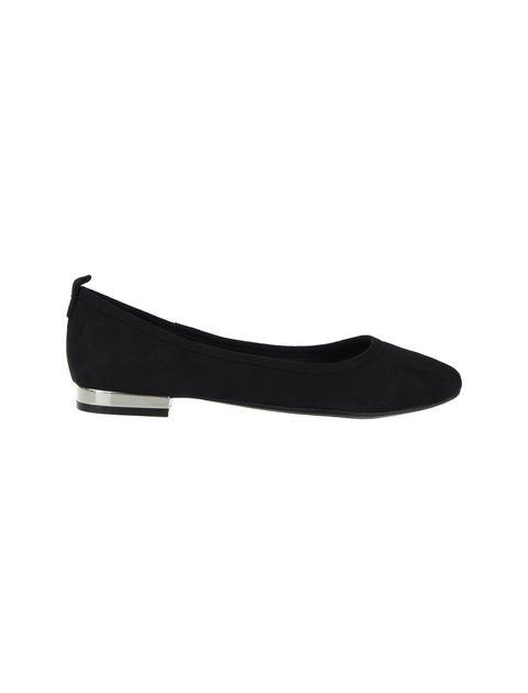 کفش تخت عروسکی زنانه - مشکي - 2