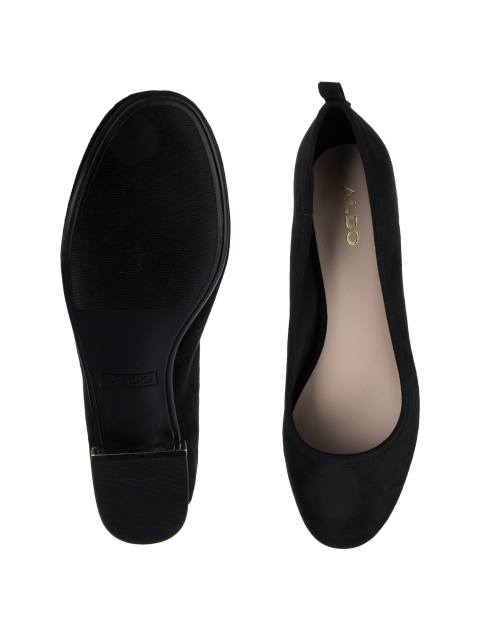 کفش تخت عروسکی زنانه - مشکي - 3