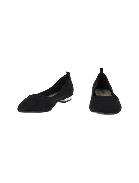 کفش تخت عروسکی زنانه - مشکي - 4