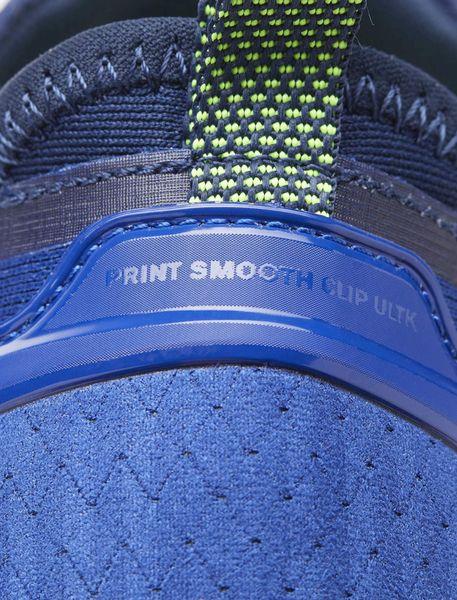 کفش دویدن بندی مردانه Smooth Clip Ultraknit - آبي - 7