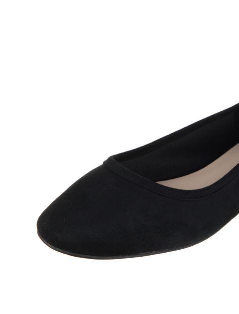 کفش تخت عروسکی زنانه - مشکي - 6