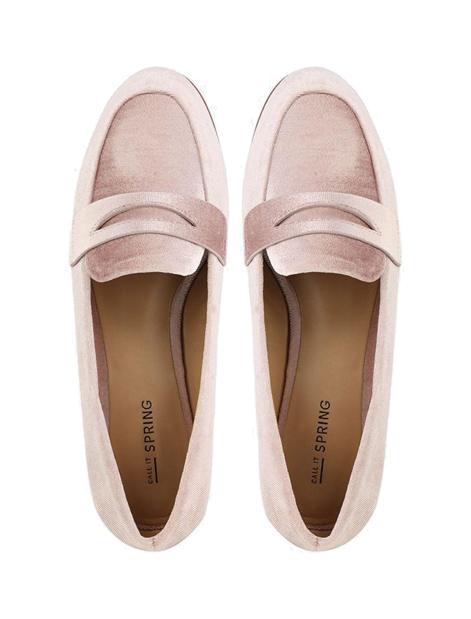 کفش تخت زنانه - کال ایت اسپرینگ - صورتي روشن - 2