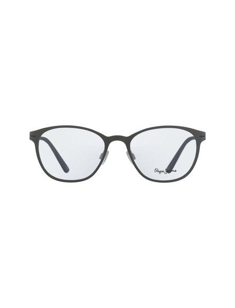 عینک طبی گرد زنانه - طوسي - 1
