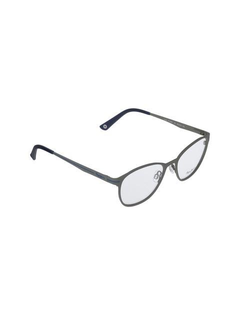 عینک طبی گرد زنانه - طوسي - 2