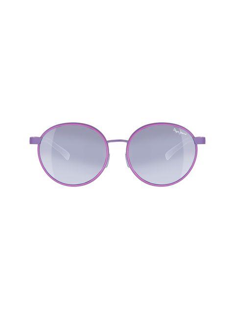 عینک آفتابی گرد زنانه - پپه جینز - بنفش روشن - 1
