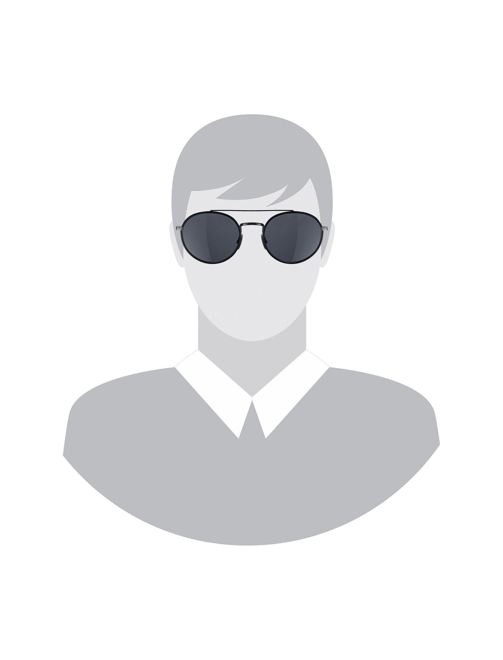 عینک آفتابی گرد مردانه - باس - مشکي - 7