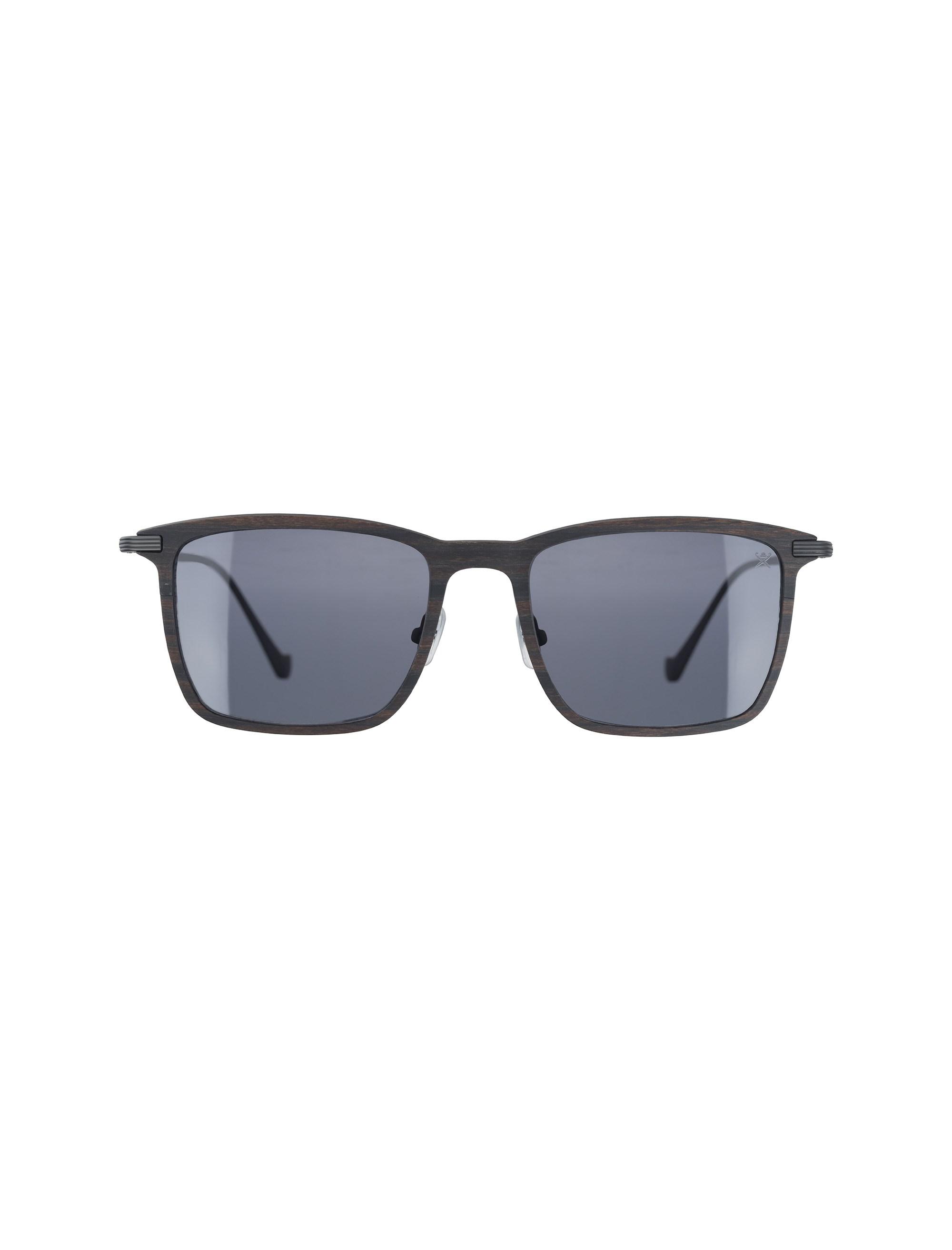 عینک آفتابی ویفرر مردانه - قهوه اي طرح چوب - 1