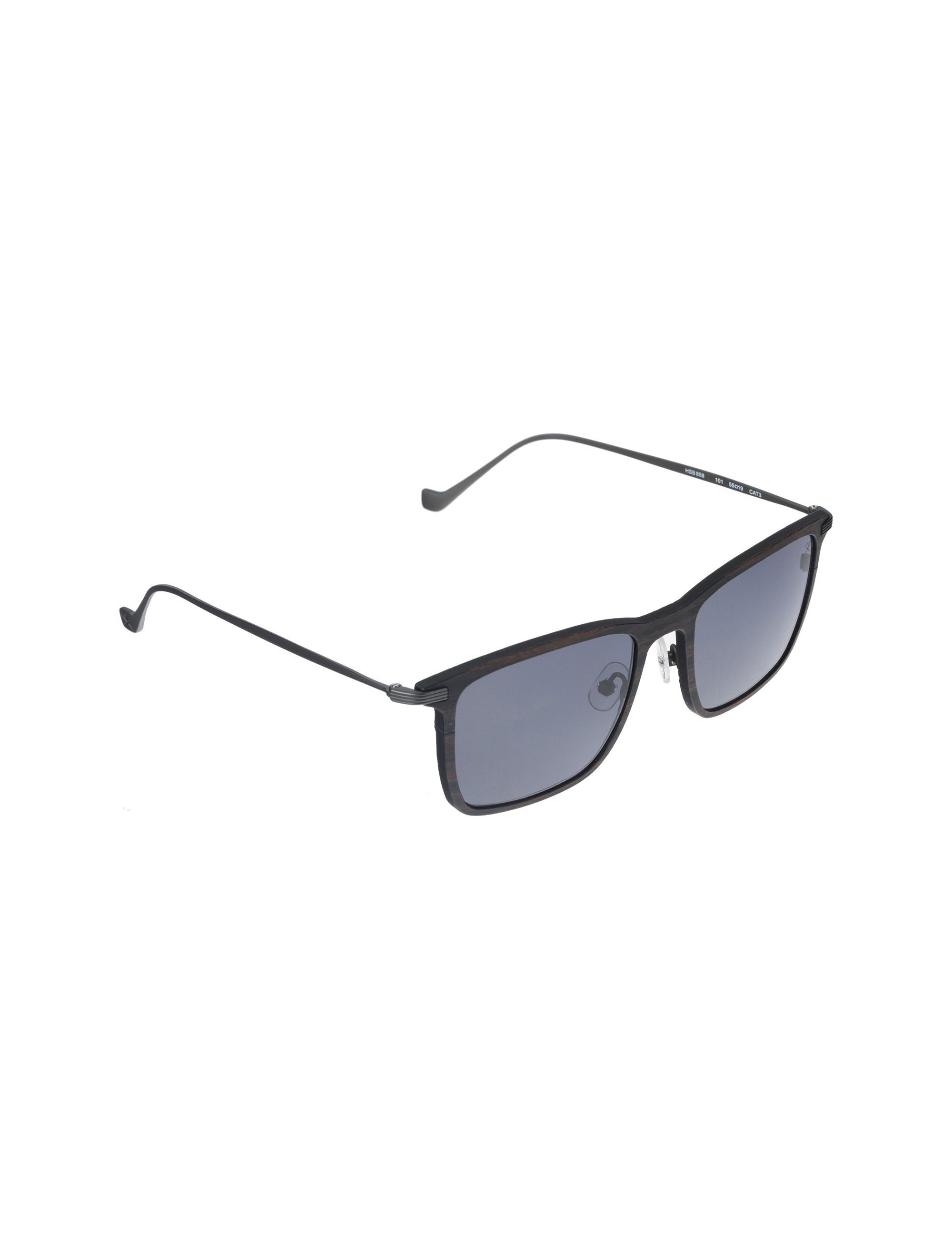عینک آفتابی ویفرر مردانه - قهوه اي طرح چوب - 2