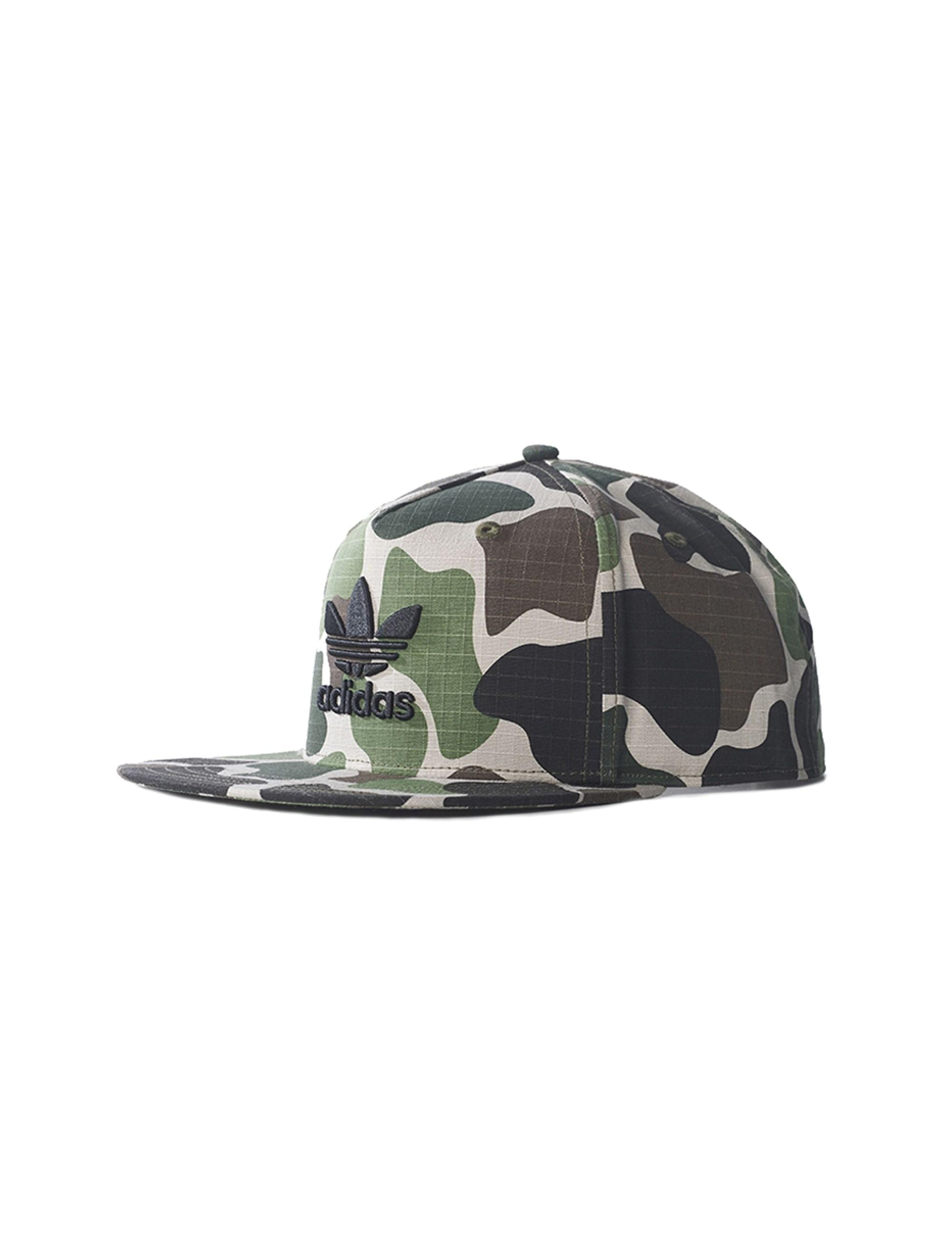 کپ طرح دار بزرگسال Camouflaged Snap-Back