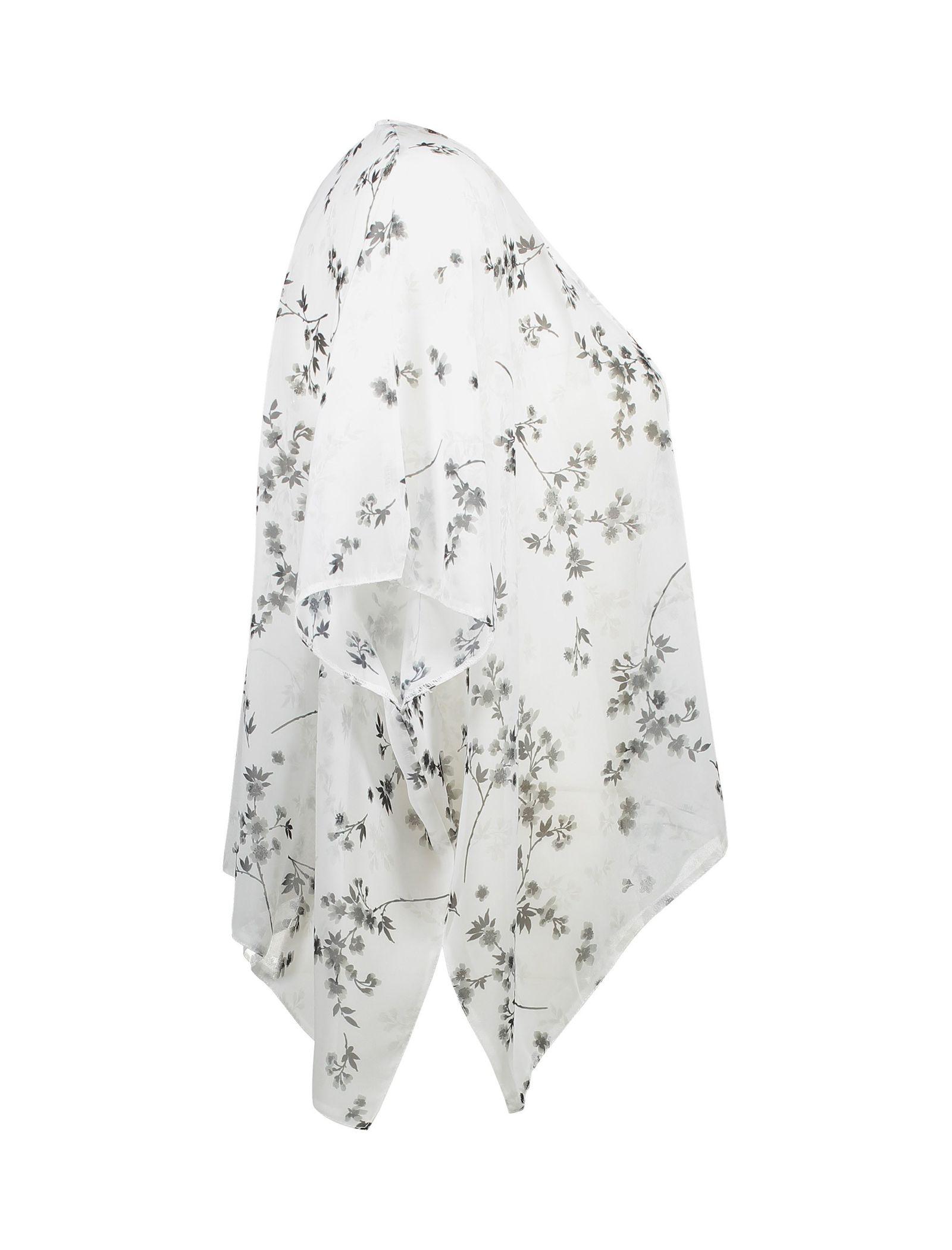 رویه لباس طرح دار دخترانه - نیو لوک - سفيد - 3