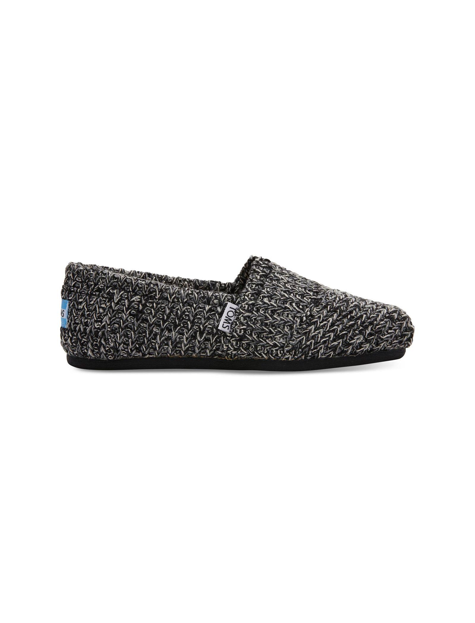 کفش تخت بافتنی زنانه - تامز - مشکي - 1