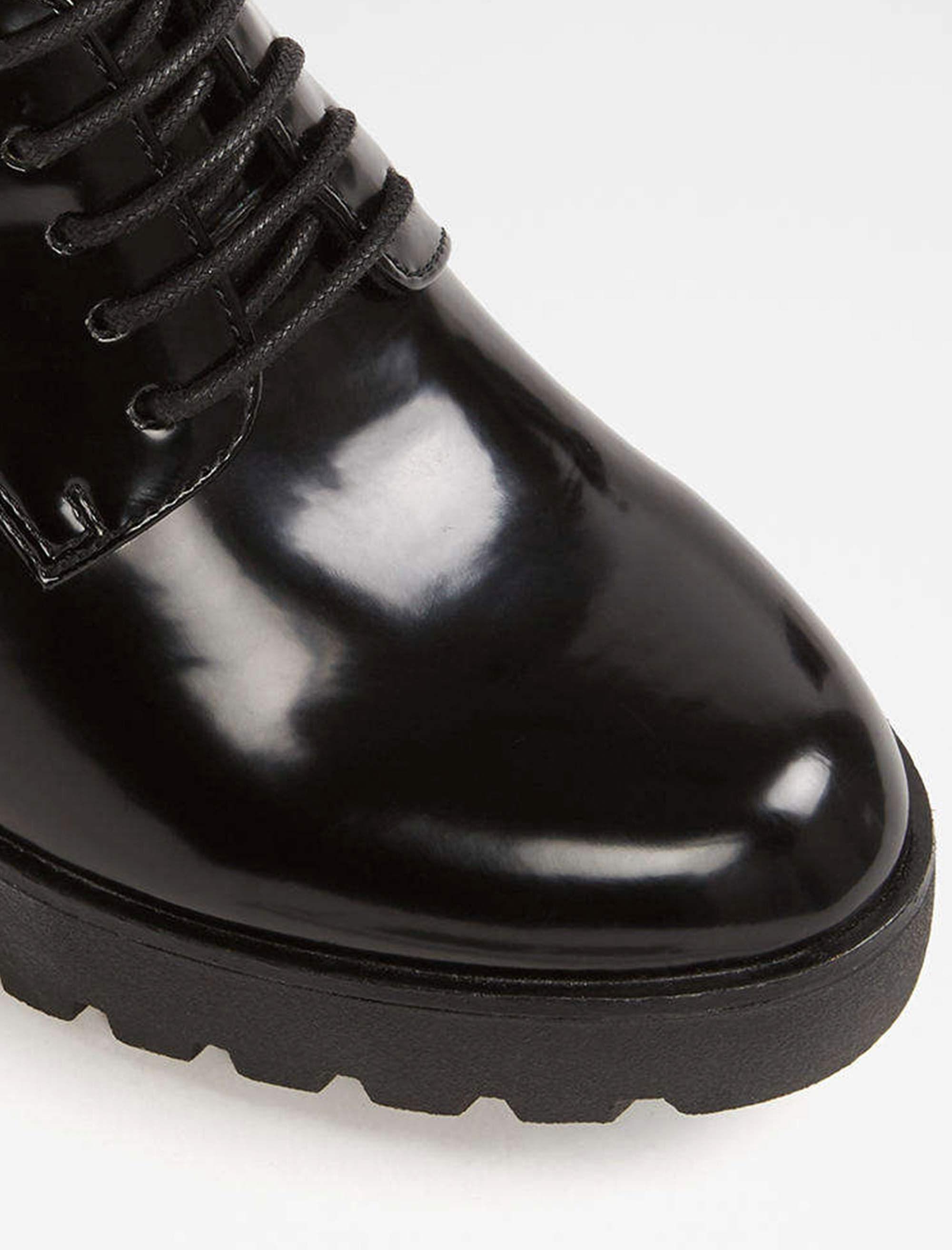 کفش پاشنه بلند زنانه - مشکي - 4