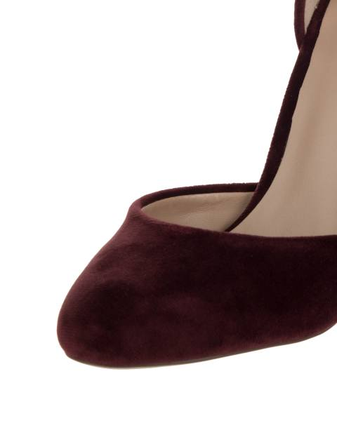 کفش پاشنه بلند زنانه ABIGODDA - زرشکي - 6