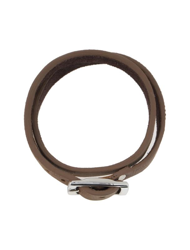 دستبند چرم مردانه - ماکو دیزاین سایز 42 cm