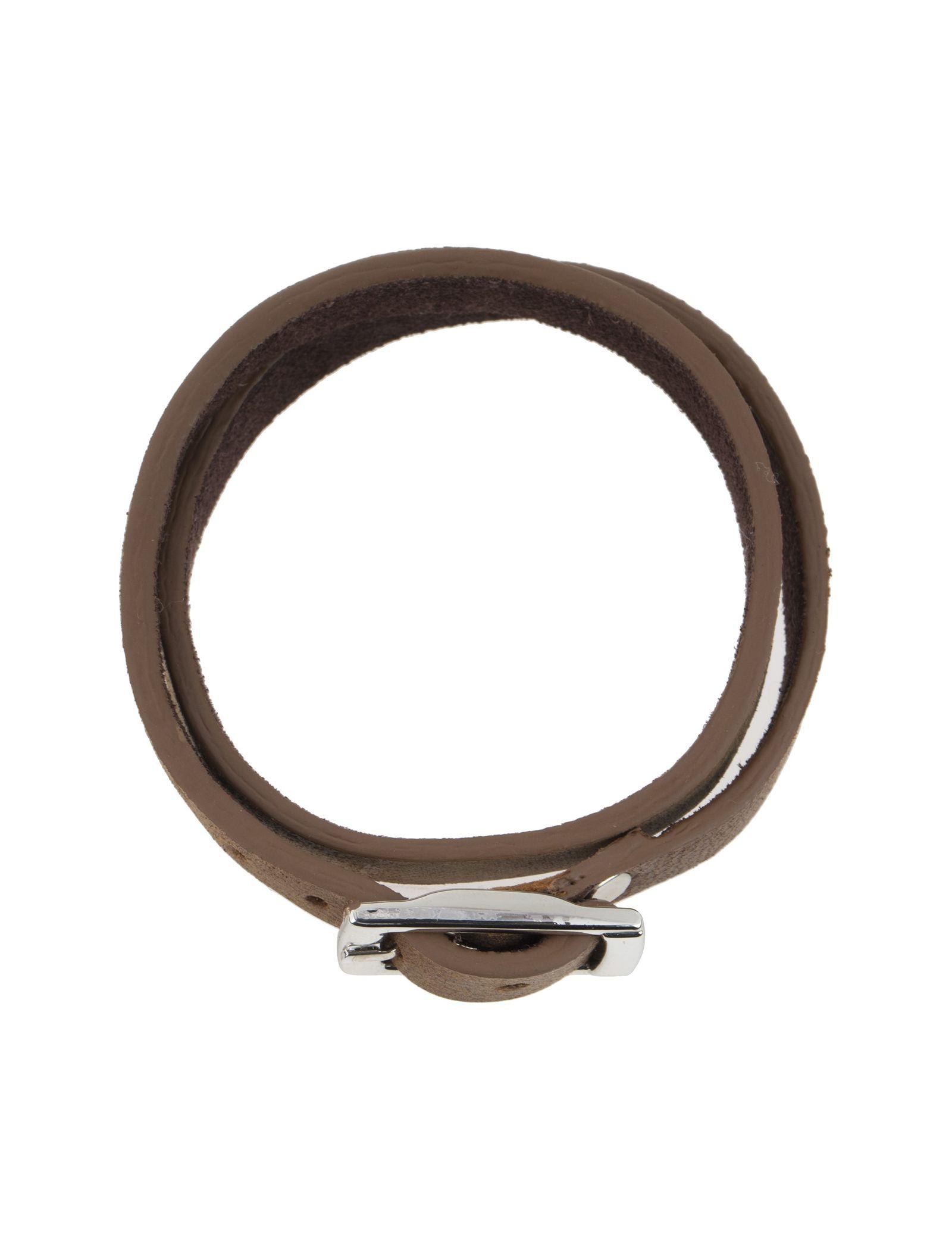 دستبند چرم مردانه - ماکو دیزاین سایز 42 cm - قهوه اي روشن - 2
