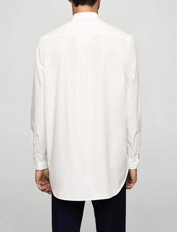 پیراهن نخی آستین بلند مردانه Anteia
