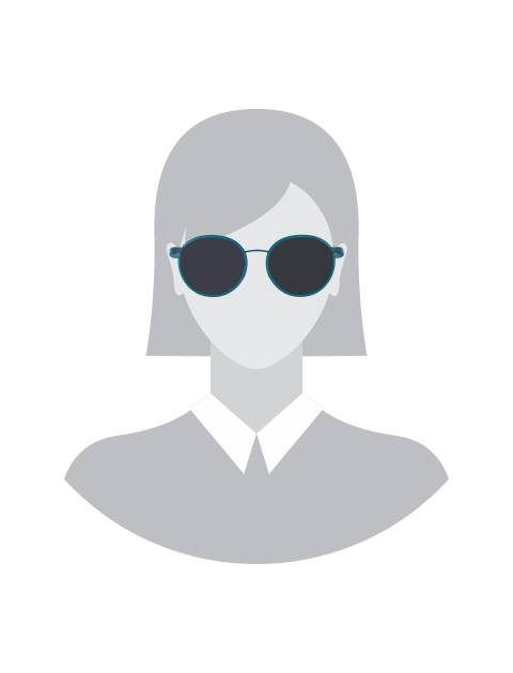 عینک آفتابی گرد زنانه - آبي - 5