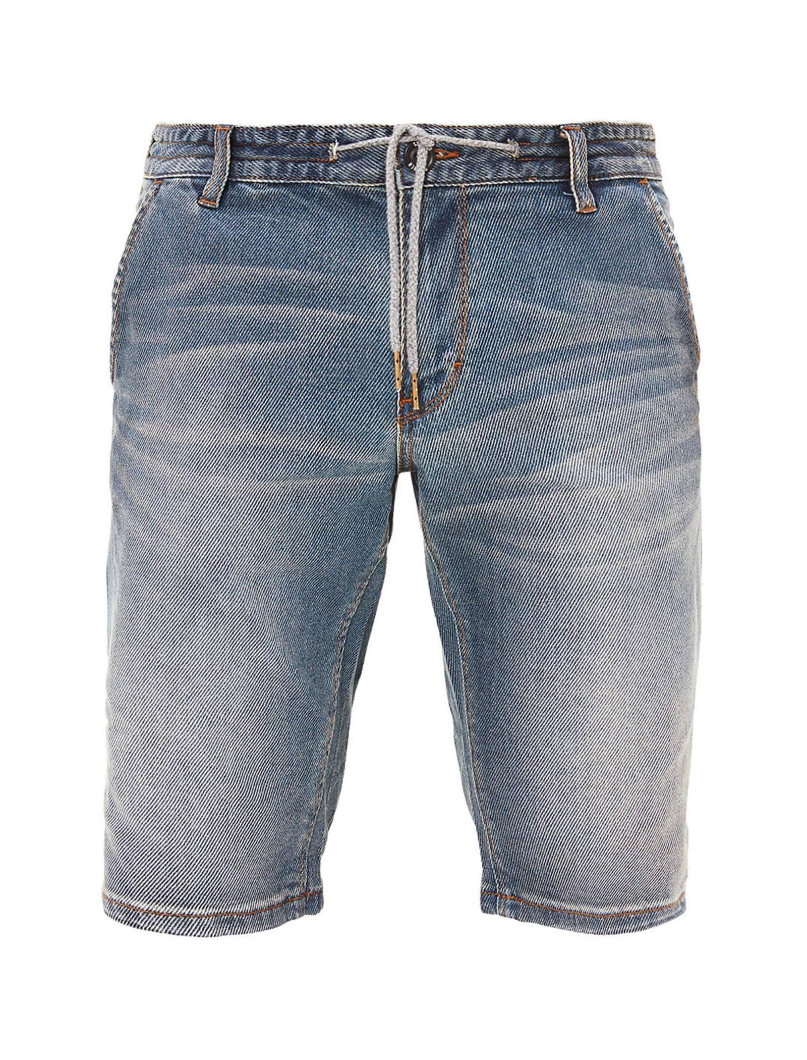 شلوارک جین مردانه - اس.اولیور - آبي  - 1