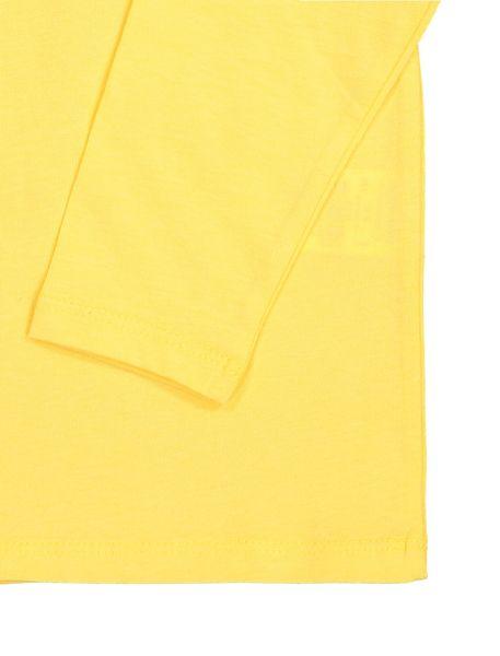 تی شرت نخی آستین بلند پسرانه - زرد - 3