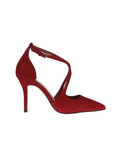 کفش پاشنه بلند چرم زنانه - آلدو - قرمز - 1