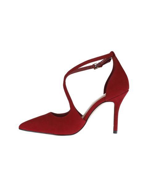 کفش پاشنه بلند چرم زنانه - آلدو - قرمز - 3