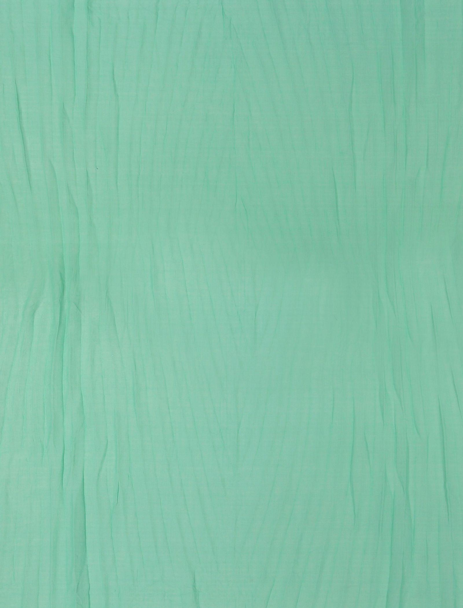 شال ساده زنانه - دونابل - سبز  - 4