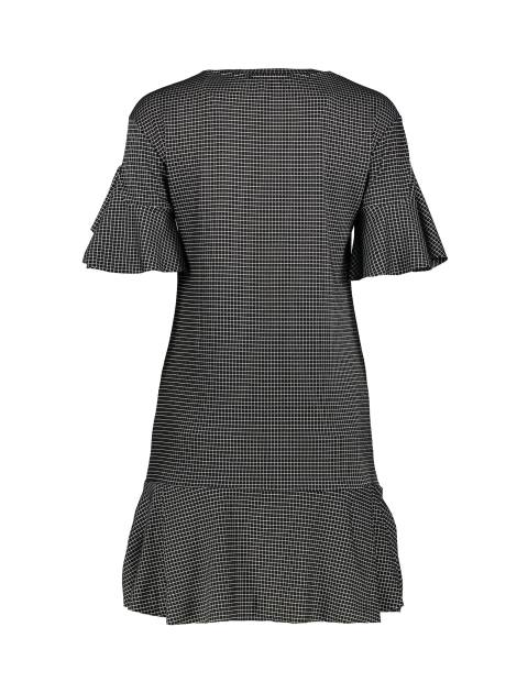 پیراهن کوتاه زنانه - طوسي - 2