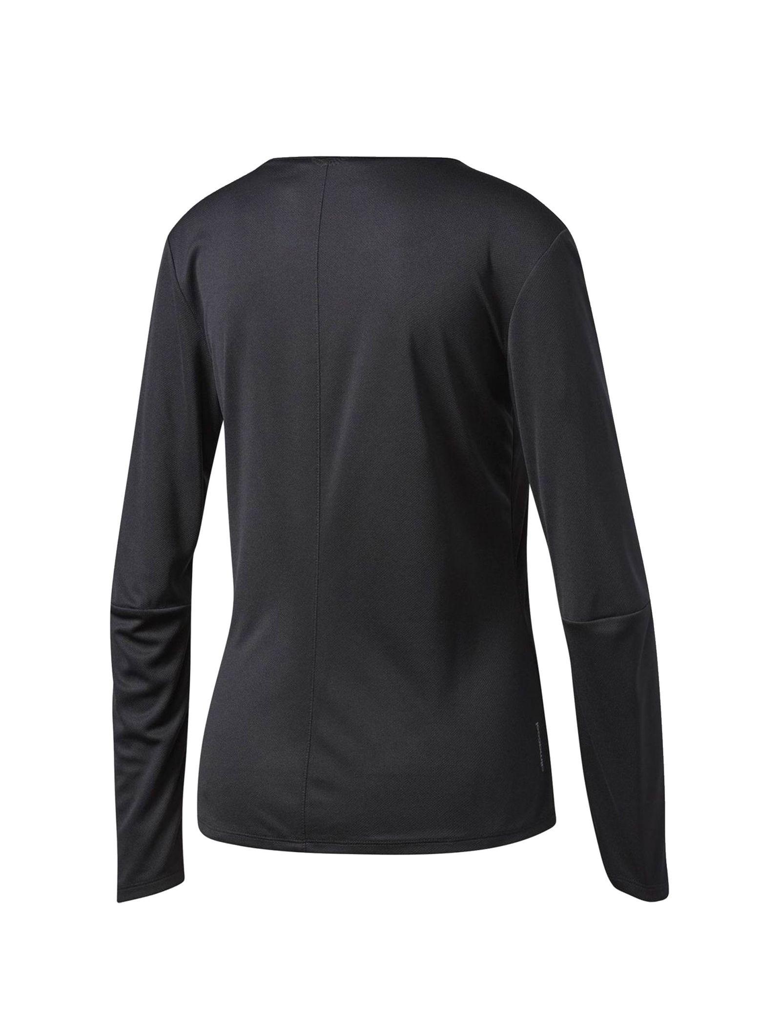 تی شرت ورزشی آستین بلند زنانه Response - آدیداس - مشکي - 2