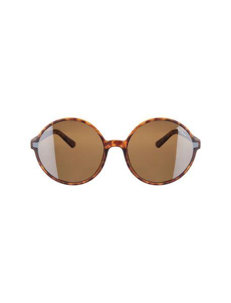 عینک آفتابی گرد زنانه - قهوه اي  - 1