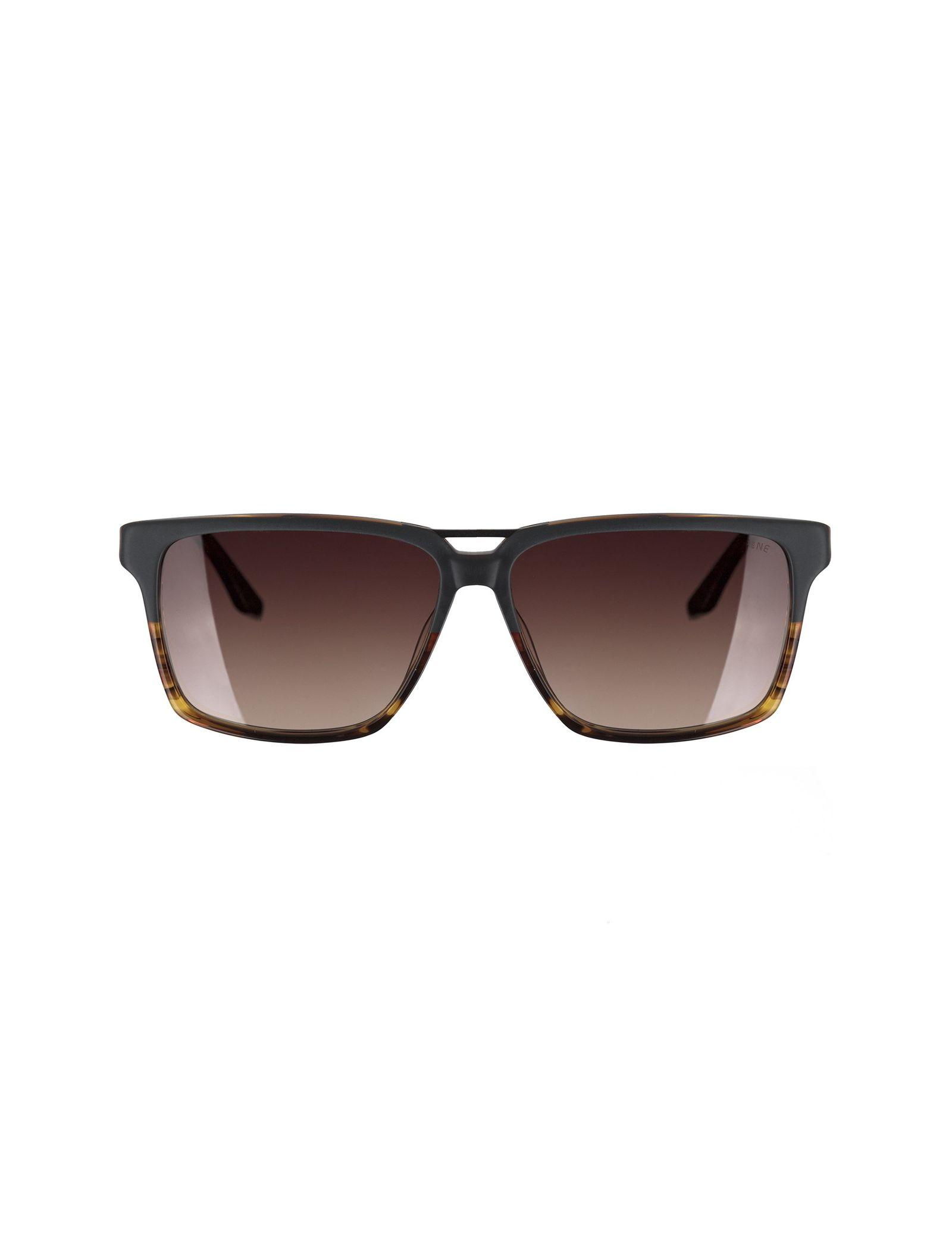 عینک آفتابی ویفرر مردانه - اسپاین - طوسي و قهوه اي - 1