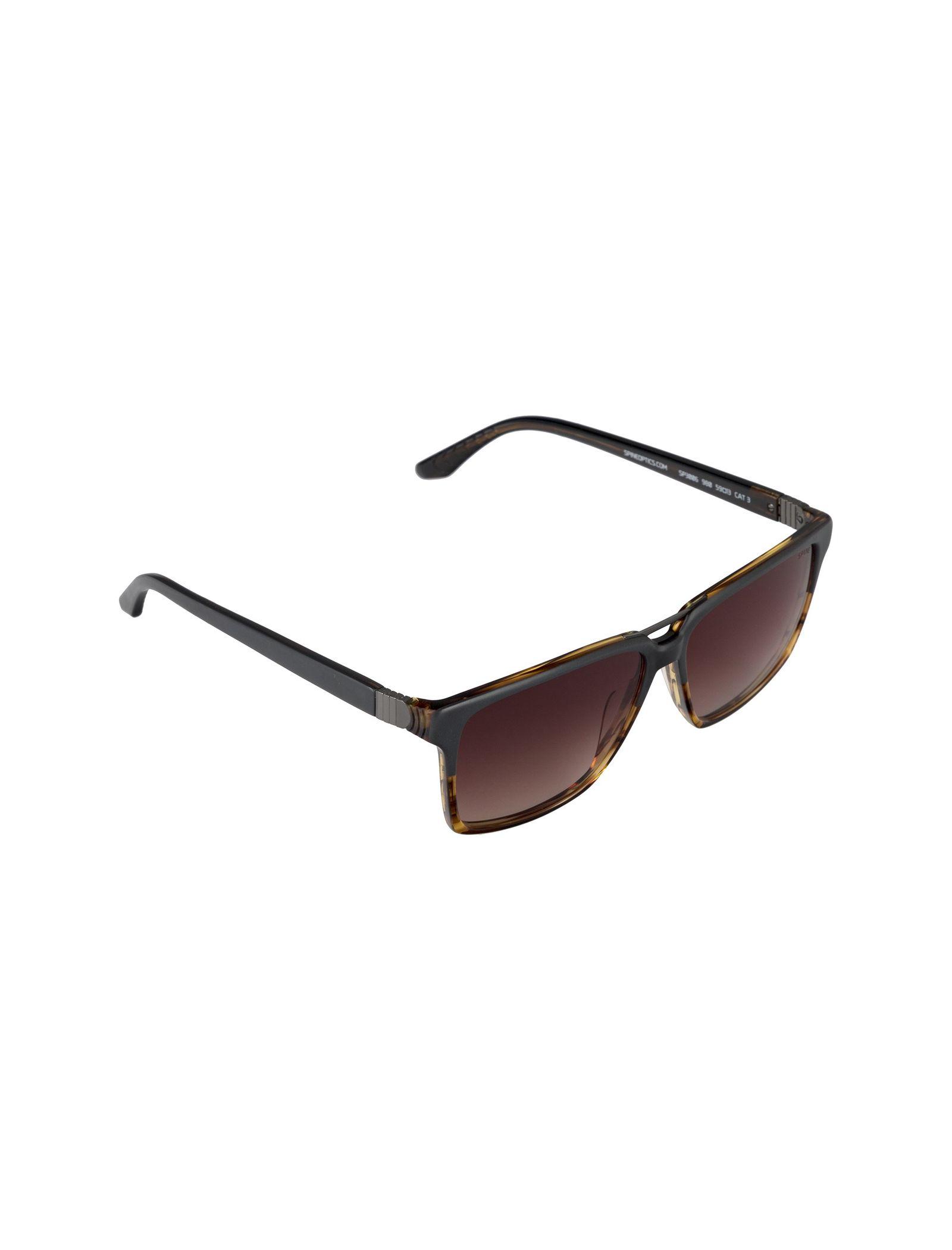 عینک آفتابی ویفرر مردانه - اسپاین - طوسي و قهوه اي - 2