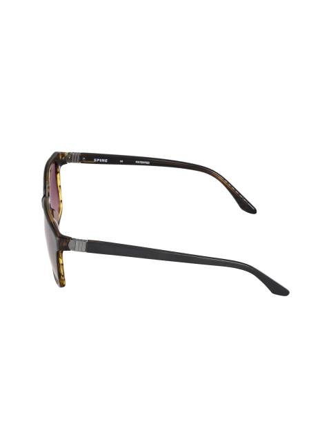 عینک آفتابی ویفرر مردانه - طوسي و قهوه اي - 3