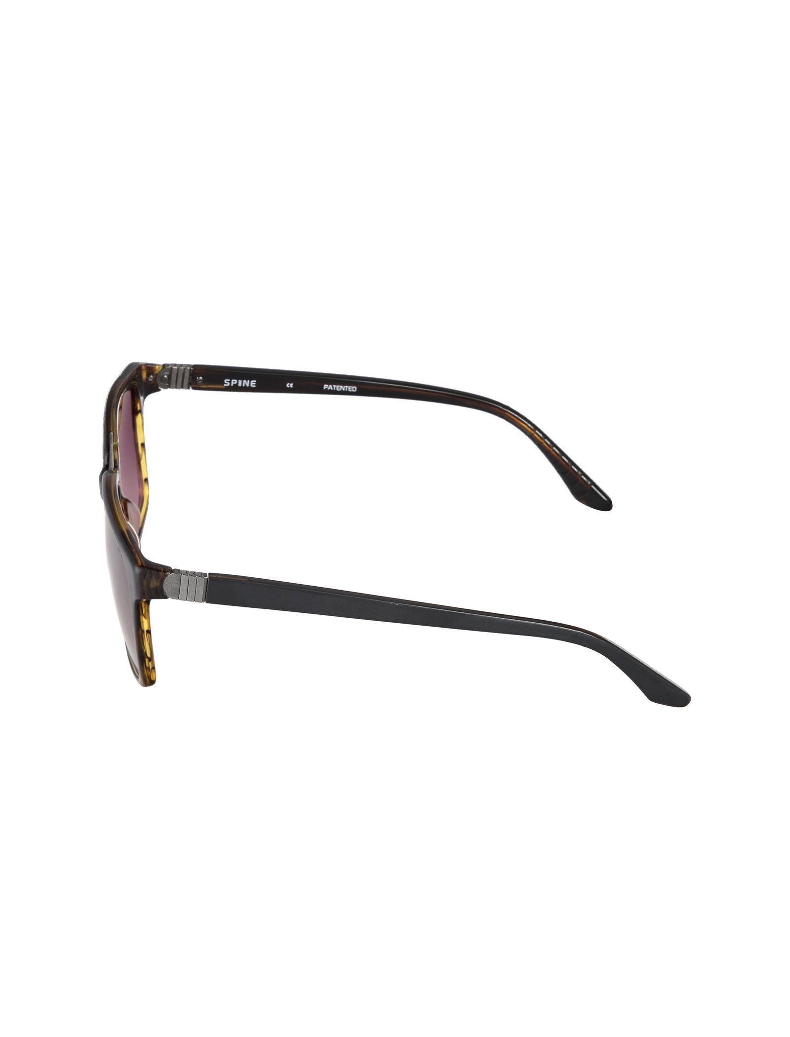 عینک آفتابی ویفرر مردانه - اسپاین - طوسي و قهوه اي - 3