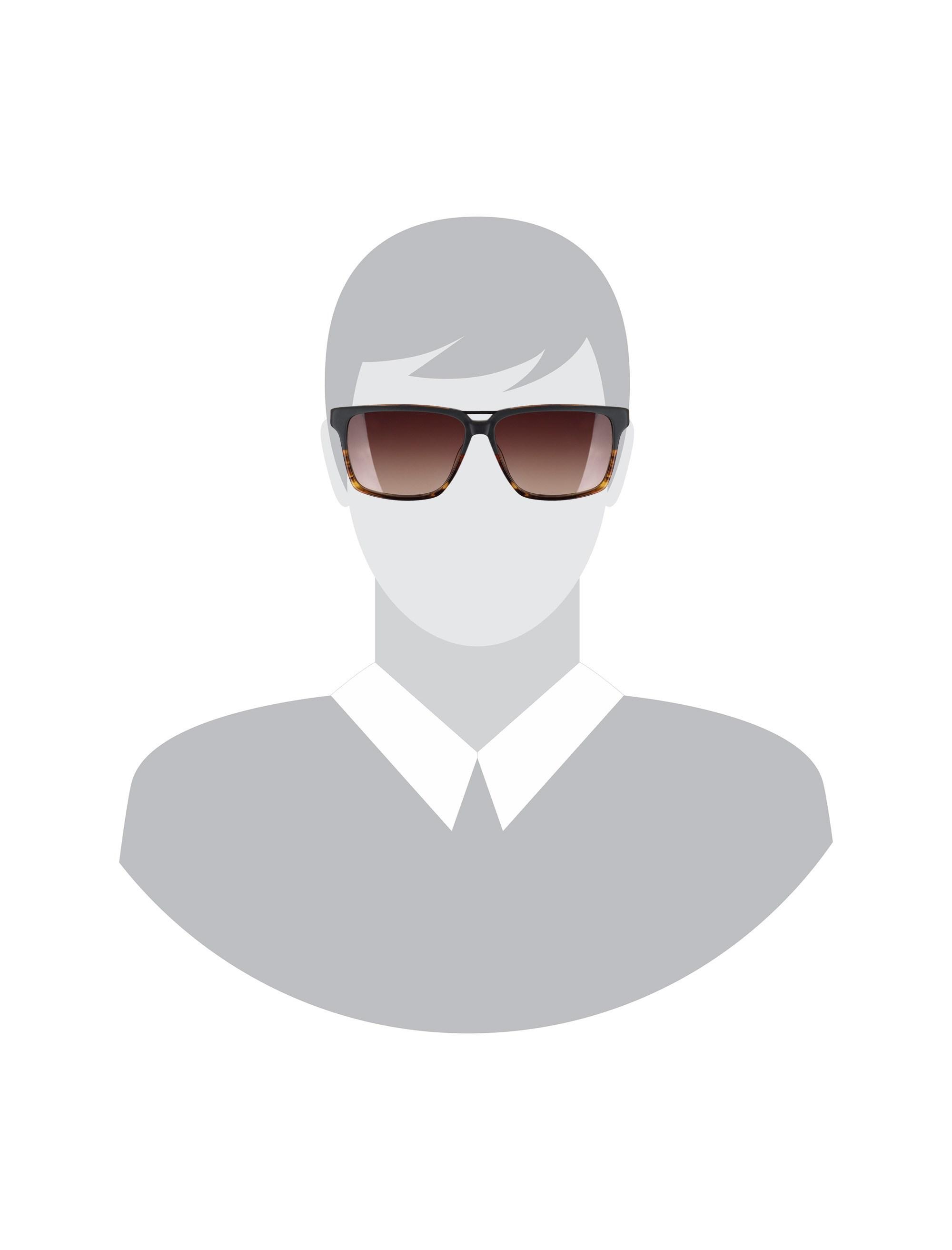 عینک آفتابی ویفرر مردانه - اسپاین - طوسي و قهوه اي - 6