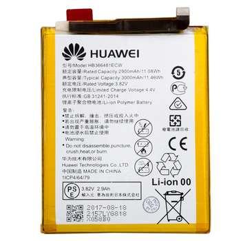 باتری موبایل مدل HB366481ECW با ظرفیت 3000mAh مناسب برای گوشی موبایل هوآوی Honor 8/Honor 8 Lite
