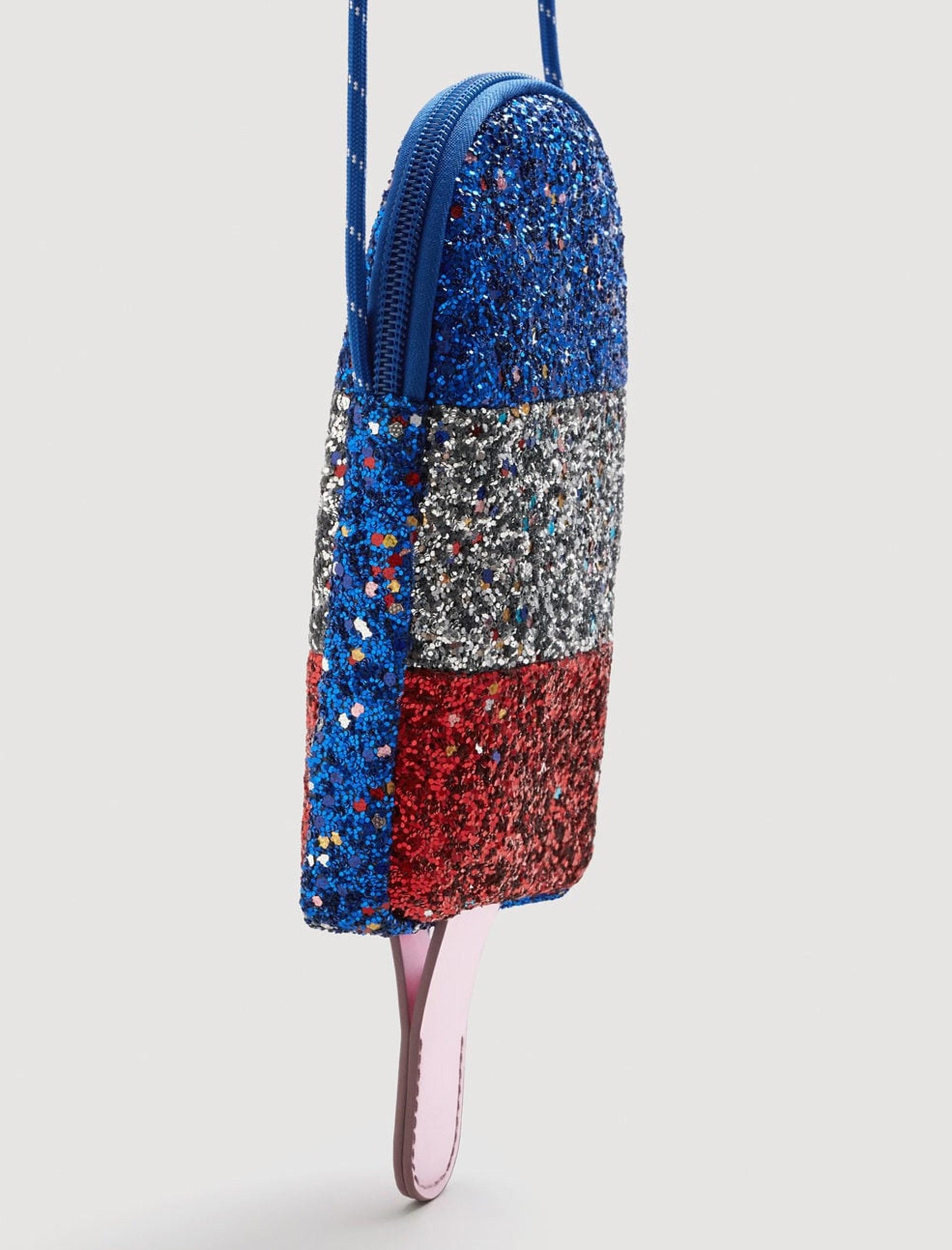 کیف دوشی روزمره دخترانه - آبي - 2
