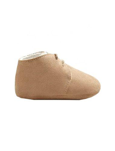 کفش نوزادی جیر بندی دخترانه - مانگو